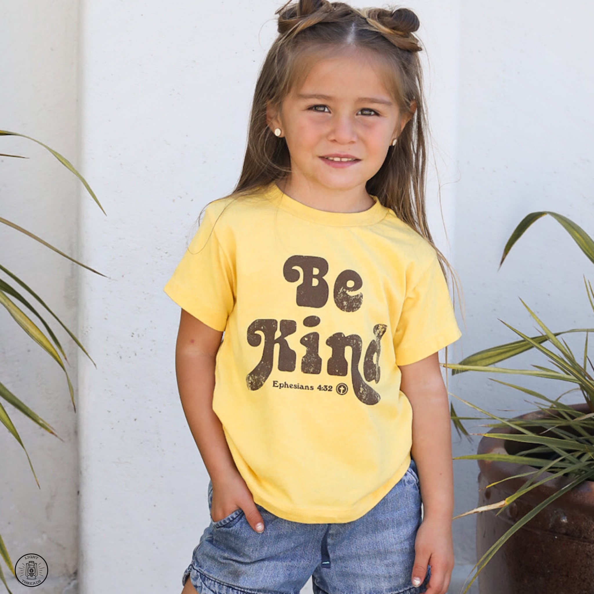 Be Kind in yellow for toddlers