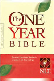 NLT ONE YEAR COMPACT HARDBACK BIBLE