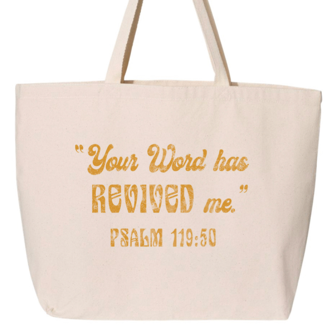 REVIVED Jumbo Tote Bag