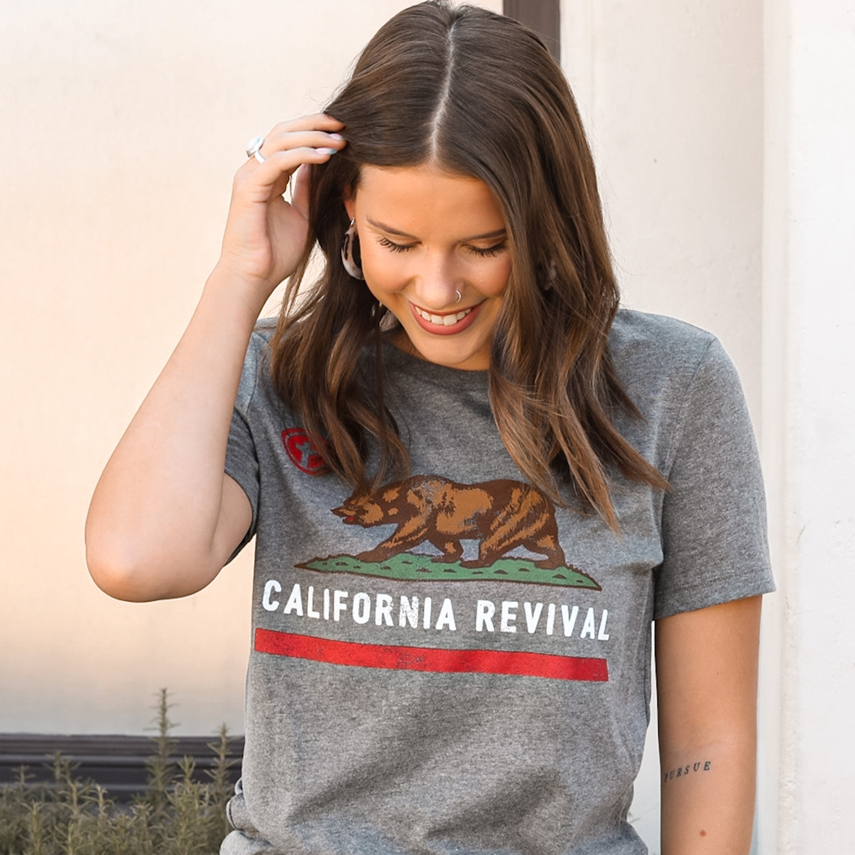 California Revival Womens T-Shirt