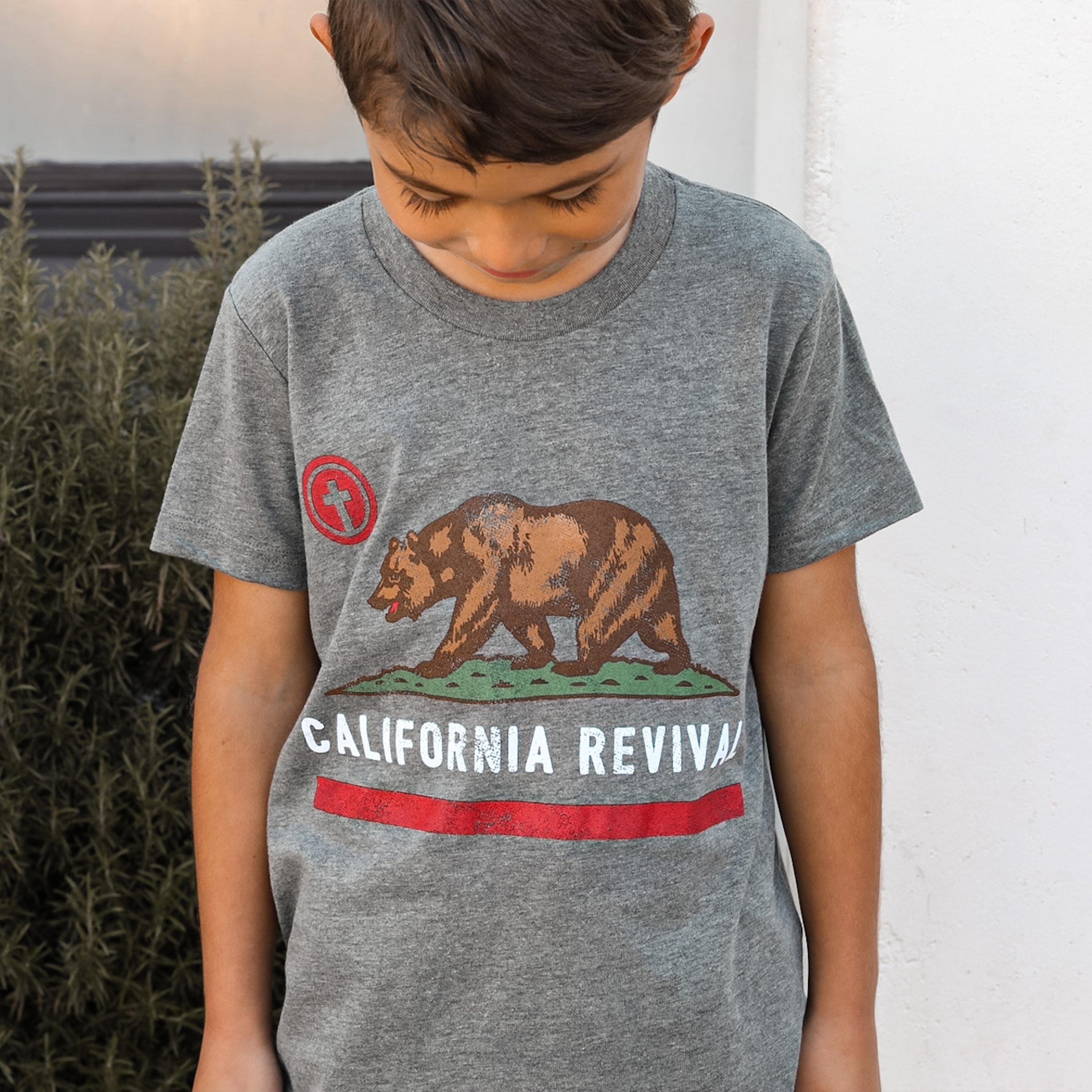 California Revival T-Shirt, Youth