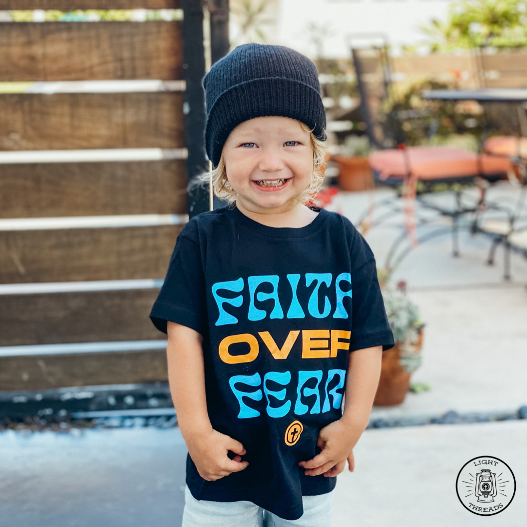Faith Over Fear Toddler Tee, 2T