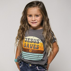 Jesus Saves Toddler Tee