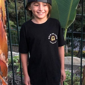 Bold as Lions t-shirt for kids
